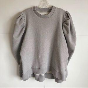 Marques Almeida Oversize Puff Sleeves Sweatshirt